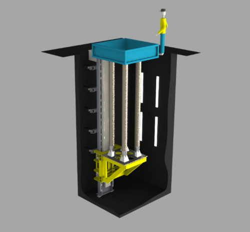 VDC vertical casting equipment for magnesium
