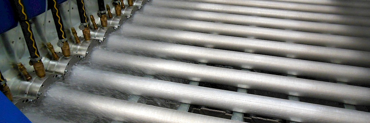 Horizontal casting lines for forging billets - Horizontal casting of forging billets