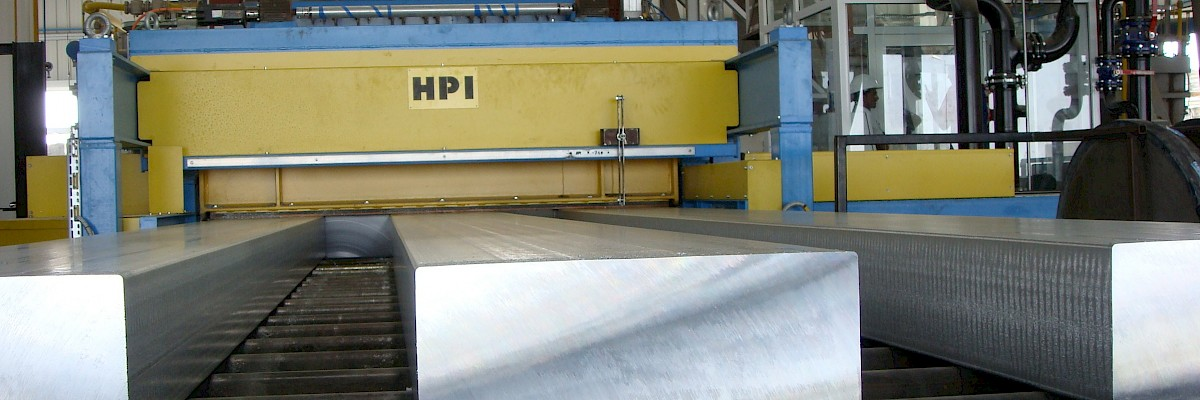 Horizontal casting lines for plates and slabs - Horizontal casting for plates