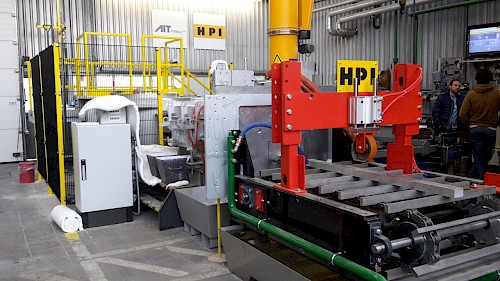 Pilot casting plant for advanced alloy development